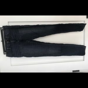 flying monkey low waisted blue jeans